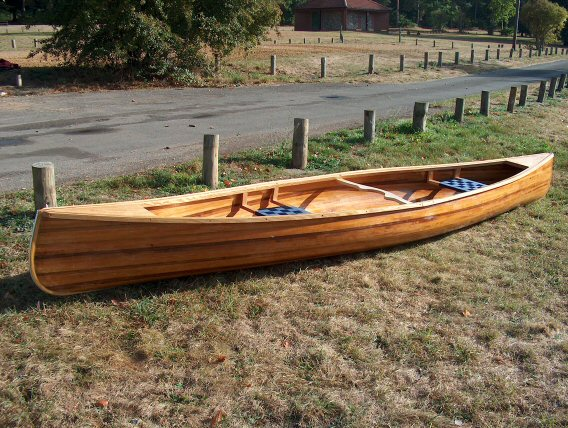 My canoe i built